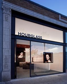 Hourglass flagship store at 1351 Abbot Kinney Blvd. in Venice, California.