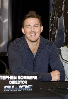 "Channing Tatum Photo - ""G.I. Joe"" Press Call in Australia"