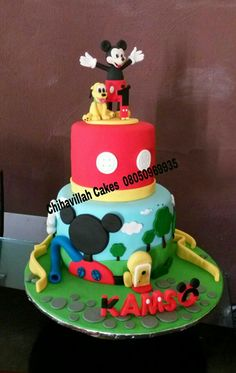 Mickey clubhouse cake by Chihavillah cakes