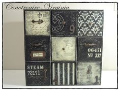 Pin on Furniture makeover diy Decoupage Furniture, Decoupage Box, Decoupage Vintage, Jewelry Box Makeover, Matchbox Crafts, Painted Cupboards, Magical Home, Craft Bags, Vintage Scrapbook