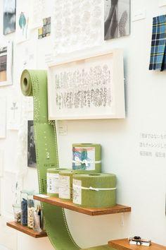 長崎で開催中のミナ ペルホネン展覧会「1∞ ミナカケル」から展示の様子が届きました