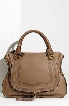 Women\u0026#39;s Chloe \u0026#39;Large Marcie\u0026#39; Leather Hobo Nut One Size | In Love ...