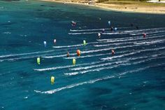 Paros Island is a Paradise for Kite Surfers Greece Tourism, Paros Island, Places Worth Visiting, Windsurfing, Kite, Beautiful Beaches, Places To Go, Surfers, Paradise