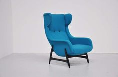 Papa Bear Easy Chair Holland 1960 | From a unique collection of antique and modern lounge chairs at http://www.1stdibs.com/furniture/seating/lounge-chairs/
