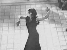 Dexterous, Strong, Expressive. That Posture. That skirt. Those Castanets <3 The Legendary Carmen Amaya (1913-1963), Flamenco Potpourri 1
