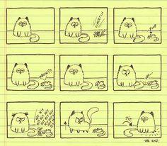 Cat funny – Rikke Asbjorn