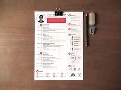 Amazing resume design ... For more resume inspirations click here: http://www.pinterest.com/sheppardaaron/-design-resumes/ ... Creative Resume Design, Resume Style, Resume Design, Curriculum Vitae, CV, Resume Template, Resumes, Resume Format.