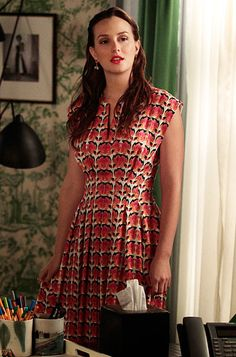 "Season 6, Episode 6: ""Where the Vile Things Are""  Blair Waldorf (Leighton Meester) wears a Lyn Devon dress."