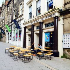 Burgh Coffee House - Stirling's a University City, which means students, and lots of them. They've brought with them the need for copious amounts of coffee and free Wifi, and the city has obliged. Here are a few tried and tested places to plug in with great, cheap drinks and free internet access.