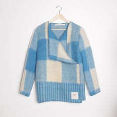 jackets and coats made from vintage wool blankets - love!
