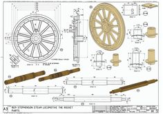 Rocket 3 Wooden Wagon, Wooden Wheel, Mechanical Engineering Design, Mechanical Design, Model Cars Building, Horse Drawn Wagon, Old Wagons, Horse And Buggy, Gypsy Wagon