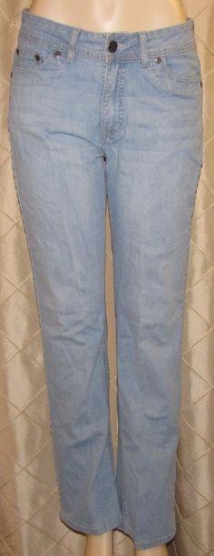f4051301d31 LEE RIDERS NO GAP WAIST BOOT CUT BLUE JEANS WOMENS SIZE 12 M STRETCH DENIM  SLIMS