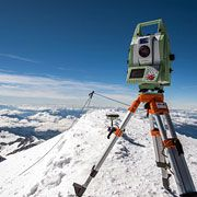 Leica Nova MS50 MultiStation delivers exact scan of Mont Blanc ice cap - Leica Geosystems
