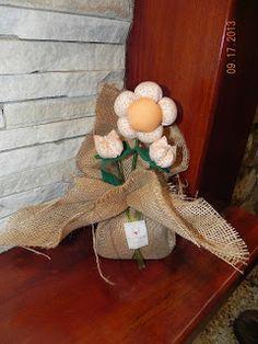 Flor de madeira: Peso de Porta