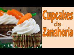 Cupcakes de zanahoria decorados - YouTube