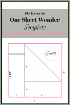 Using a one sheet wonder template can make creating a handful of cards quick and easy and still gorgeous - check out my favorite template!NB: PHOTO HEAVY Have you heard of a One Sheet Wonder template? Card Making Templates, Card Making Tips, Card Making Tutorials, Card Making Techniques, Card Templates Printable, Paper Craft Templates, Card Making Ideas Free Printables, Owl Templates, Applique Templates