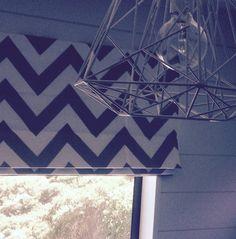 Roman Blinds, Roman Shades, Window Treatments, Valance Curtains, Chevron, Stripes, Fabric, Image, Home Decor