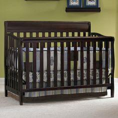 Graco Cribs Stanton 4 In 1 Convertible Crib Cherry