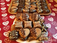 Christmas Baking, Christmas Cookies, Czech Recipes, Gingerbread Cookies, Waffles, Cheesecake, Food And Drink, Rum, Cooking
