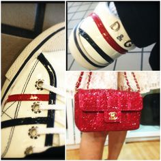 Red, White, and Hot #chanel #d