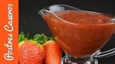 Puré de fresas para rellenar tartas | Javier Romero