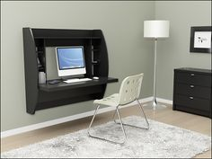Floating Desk from best buy... This is neat!!!