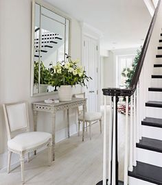 Weekend Whites A Pair Of Swedish Gustavian Chairs And Console Table From Our Shop In