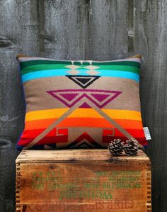 I grew up with Pendleton all over my house, and would love to continue accenting with their items.