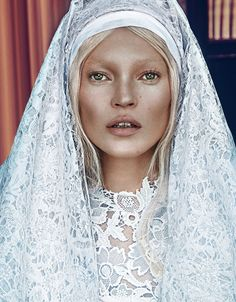 White Out WinterPhotograph by Steven Klein; styled by Edward Enninful; W magazine March 2012.