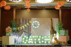 Sachiel's Modern Jungle Safari Themed Party – 1st Birthday