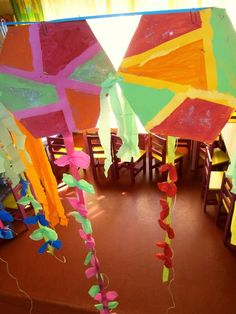 Προσχολική Παρεούλα : Οι χαρταετοί της Καθαράς Δευτέρας , και ο χαρταετός των φόβων μας !!! Crafts For Kids, Blog, Crafts For Children, Kids Arts And Crafts, Blogging, Kid Crafts, Craft Kids