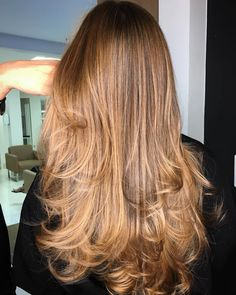 Long layered hair is beautiful, Need to find layered haircuts inspiration? See our list of 90 stunning layered haircuts&hairstyles for long hair now. Haircuts For Long Hair With Layers, Curls For Long Hair, Long Natural Hair, Long Curly Hair, Long Hair Cuts, Curly Hair Styles, Natural Hair Styles, Thin Hair, Long Layered Haircuts Straight