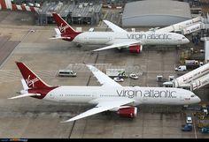 Virgin Atlantic Boeing 787-9 Dreamliners