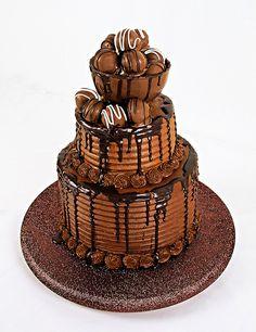 Chocolate Truffle Cake ~ Awesome!