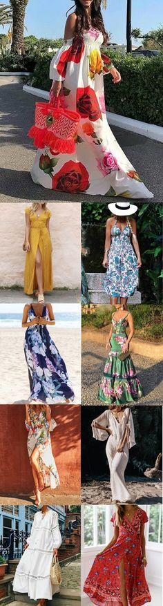 100 Styles Spring Summer Dresses for You.Shop Now! Summer Wear, Summer Outfits, Casual Outfits, Spring Summer, Summer Dresses, Mode Outfits, African Dress, Kind Mode, African Fashion