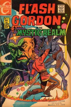 Flash Gordon Charlton Comics
