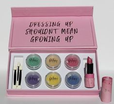 Natural Makeup Set For Kids - Oh Flossy Chemical Free Makeup, Non Toxic Makeup, Makeup Box, Makeup Brush Set, Natural Lipstick, Natural Makeup, Sparkle Lipstick, Cruelty Free Makeup, Mermaid Makeup