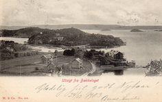 Bækkelaget, Christiania postgått 1903. Foto: Mittet