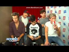 One Direction Interview 2013  - Access Hollywood ! This interview is great! The boys laugh and joke, they talk about the movie and the BSE music video, and I can't remember an interview were Zayn talked this much! I LOVE these boys <3