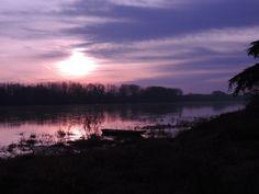 Coucher du soleil 01 janvier 2015 St Gemmes / Loire