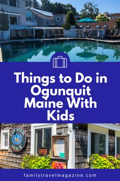 Ogunquit Maine, located along the southern coast of Maine, is a beautiful beach destination that is fun to visit. Here are some of the best things to do in Ogunquit Maine with kids, including walking along Marginal Way, the beach, cultural attractions, and more.