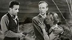 Leslie Howard with Humphrey Bogart and Bette Davis in The Petrified Forest