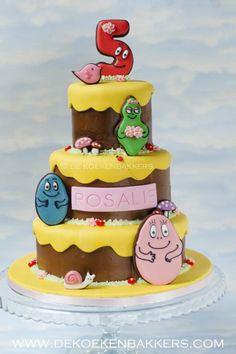 Barbapapa birthday cake