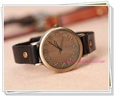 Hey, I found this really awesome Etsy listing at http://www.etsy.com/listing/159593590/retro-roman-dial-women-watch-mens