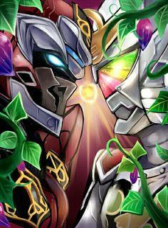 Kaito vs Kouta - Kamen Rider Gaim