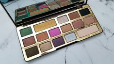 Too Faced Chocolate Gold Palette - Look, Review
