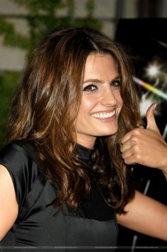 "#StanaKatic at the ""Castle"" season 3 premiere party (2010)"