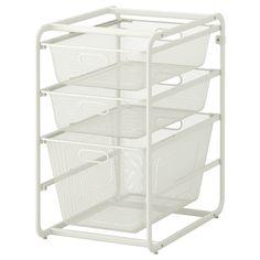 ALGOT Frame and 3 mesh baskets - IKEA FAMILY CLOSET IDEA