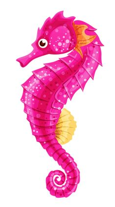 Seahorse PNG Clip Art in category Underwater PNG / Clipart - Transparent PNG pictures and vector rasterized Clip art images. Mermaid Under The Sea, The Little Mermaid, Seahorse Art, Seahorses, Sea Life Art, Cartoon Fish, Ocean Themes, Beach Crafts, Fish Art