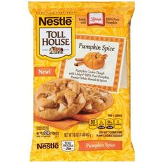 Image result for nestle toll house pumpkin spice cookies